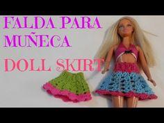 Saco En Crochet Para Barbie - Conjunto para Barbie Parte 1 - YouTube