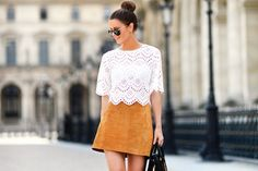 6 Stylish Ways To Look Trendy With Suede Skirts