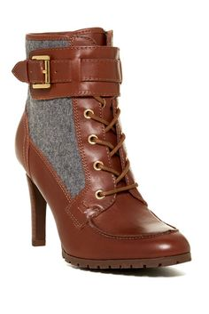 Tommy Hilfiger Lucinda Lace-Up Bootie