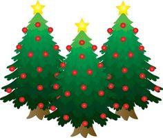 free clip art christmas decorations clip art images pictures rh pinterest com free clipart christmas tree free clip art christmas tree with presents