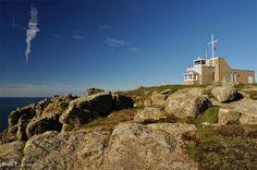 Gwennap Head coastguard lookout, Cornwall