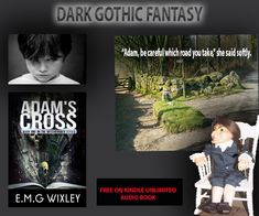 Child genius, serial killer or something more sinister? If Adam doesn't like you start worrying. Child Genius, Dark Gothic, Mystery Books, Serial Killers, Paranormal, Ghosts, Witches, Audio Books, Psychology