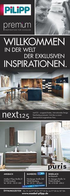Sie suchen für Ihr Zuhause das Besondere?  Dann besuchen Sie unsere premium-Abteilung in Ansbach, Bamberg oder Bindlach bei Bayreuth.  PREMIUM - so heißt die Design-Abteilung für exklusive Einrichtungs-Inspiration mit den international bekannten Herstellern.