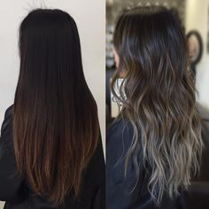 """521 Likes, 4 Comments - KY COLOR { ista } (@kycolor) on Instagram: """"Ash brown to ash blonde ombre using @fanola_usa and @olaplex for hair insurance ✨✨✨ #kycolor #ashy…"""""""