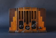 Art Deco Skyscraper Radio (c.1930)