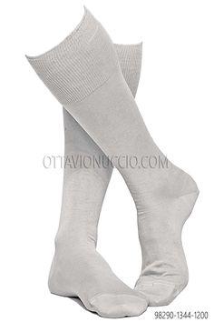 100% lisle white cotton socks #menswear #details #madeinitaly #details