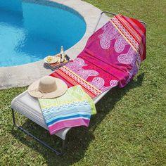 Superweiches Strandtuch aus 100% Baumwolle von bassetti