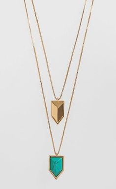 layered gold necklaces- Nordstrom