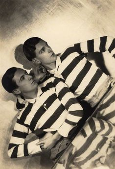 Cecil Beaton and Stephen Tennant by Maurice Beck and Helen Macgregor, 1927