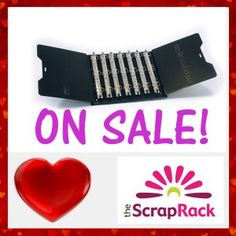 The ScrapRack puts all of your craft supplies at your fingertips. Visible and Accessible. It's rare that The ScrapRack goes on sale.  Don't miss out on a great deal.  Order yours on February 14, 2017.