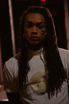 Cykeem White by Annie Powers   Backstage at Gypsy Sport FW 15