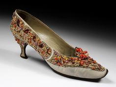 Pair of evening shoes | Roger Vivier for Schiaparelli  | V Search the Collections