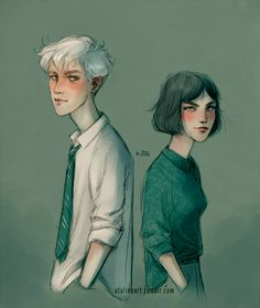Draco and Pansy by Natello on DeviantArt