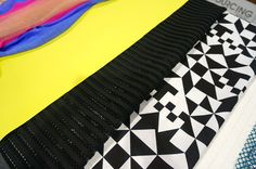#FashionSnoops at #MAGIC, #SS17 trends on #WeConnectFashion. Mood fabrics: JUXTAPOSE