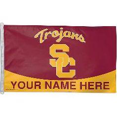 Wincraft USC Trojans Personalized 3x5 Flag