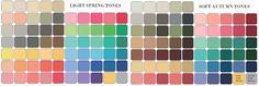 soft autumn color palette - Buscar con Google