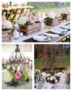 7 Easy Rustic Wedding Reception Ideas - Uniquely Yours Wedding Invitation