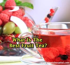 Fruit teas are a good way to keep your body's water level high. If you do not like to drink water simply, do not hesitate to prepare these delicious recipe Fruit Benefits, Tea Benefits, Health Benefits, Fruit Tea Recipes, Water Recipes, Delicious Fruit, Yummy Food, Delicious Recipes, Different Fruits