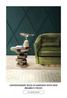 Ищете новые тенденции и идеи на 2018 год? Взгляните на эту книгу, которая показывает вам 50 современных ковров в гармонии с современными произведениями середины века. Найдите коврики для гостиной, такие как балтийский коврик из Brabbu или даже Savage Rugs из Rug'Society, чтобы выделиться в вашем стиле прихожей!