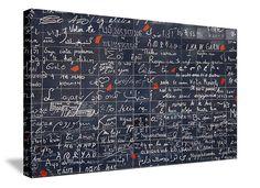 Je t'aime - I love you Paris, France 60x40 gallery wrap canvas photograph on canvas $1,050.00, via Etsy.