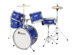 Dziecięcy zestaw perkusyjny Dimavery JDS-305 Blue | Instrumenty muzyczne \ Instrumenty perkusyjne \ Perkusje akustyczne PREZENTY \ Dla Dziecka | Sprzet-Dyskotekowy.pl - największy i najtańszy sklep internetowy z oświetleniem i nagłośnieniem w Polsce