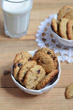 Cookies de Aveia e Arandos