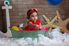 baby playing with bubbles Baby Portraits, Baby Play, Portrait Photographers, Bubbles, Kids, Photography, Wedding, Decor, Young Children