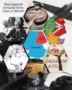 Berlin Crisis – Berlin Blockade and Airlift – visual hexagon resource | jivespin
