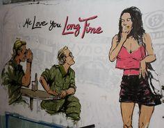 Southeast Asian Favorites At Me Love You Long Time Full Metal Jacket Vietnam War Nose Art