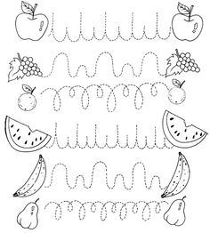 Crafts,Actvities and Worksheets for Preschool,Toddler and Kindergarten.Free printables and activity pages for free.Lots of worksheets and coloring pages. Preschool Writing, Preschool Printables, Preschool Learning, Kindergarten Worksheets, Writing Activities, Preschool Activities, Teaching, Tracing Worksheets, Worksheets For Kids