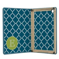 Aqua and Lime Quatrefoil Pattern Custom Monogram iPad Mini Retina Cases you will get best price offer lowest prices or diccount couponeShopping          	Aqua and Lime Quatrefoil Pattern Custom Monogram iPad Mini Retina Cases Review from Associated Store with this Deal...
