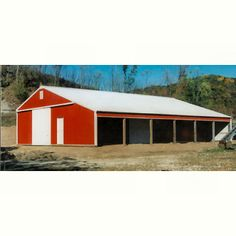 Barns Sheds, Pole Barns, Building A Pole Barn, Cattle Barn, Future Farms, Barn Garage, Dream Furniture, Livestock, Stables