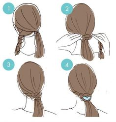 20 cute hairstyles that are extremely easy to do - hairstyles .- 20 süße Frisuren, die extrem einfach zu tun sind – Frisuren Modelle 20 cute hairstyles that are extremely easy to do - Cute Quick Hairstyles, Braided Hairstyles Tutorials, Hairstyle Ideas, Stylish Hairstyles, Teenage Hairstyles, Underlights Hair, Long Length Hair, Top Braid, Wild Hair