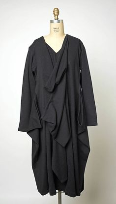 I could stare at this for the rest of my life.  Comme des Garçons 1983 Met Collection
