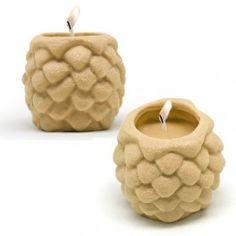 Molde de silicona Navideño para hacer detalles de Piña, con 2 cavidades. Clásicas velas que no pueden faltar en tu hogar estas navidades, ideales. DIY.
