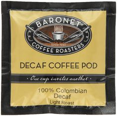 Baronet Coffee Decaf 100% Colombian Medium Roast * Continue to the product at the image link.