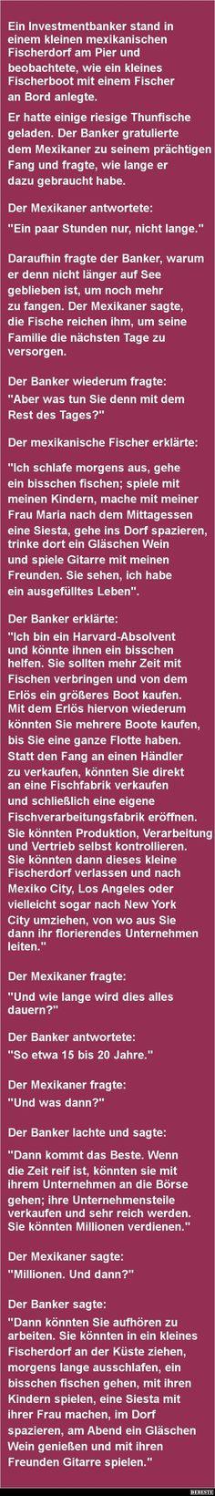 Ein Investmentbanker stand in einem.. | DEBESTE.de, Lustige Bilder, Sprüche, Witze und Videos