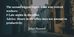 The second biggest regret from wise retired workers