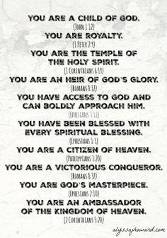 Valuable to God: Walking in Your New Identity | alyssajhoward.com