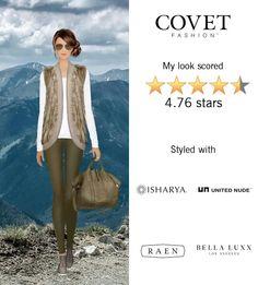 Covet Fashion Game. Look: Solo Trek
