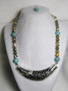 Turkish Delight - Jewelry creation by Linda Foust