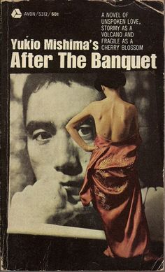 Book Cover (Yukio Mishima's After The Banquet)