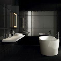 salle de bain ceramique noire - Google Search