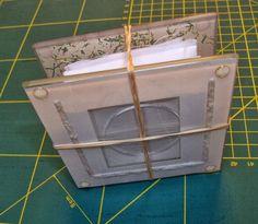 ...And Then We Set It On Fire: Shibori Folding - no 9