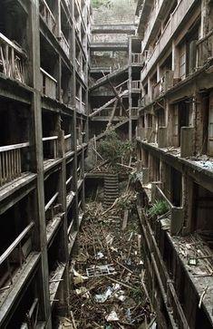 Hashima / James Bond Villain's Lair / Skyfall's Abandoned Island