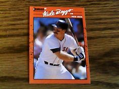 donruss 1990  wade boggs red sox card 68