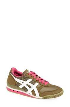 Onitsuka Tiger 'Ultimate '81' Sneaker (Women) Olive Leopard/ Off White Size 11 B - $75 on Vein - getvein.com