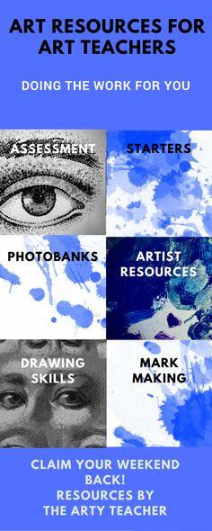 Art resources for Art Teacher. Art Teacher resource. Teaching Art & Design.