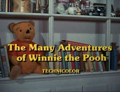 ATOMIC CHRONOSCAPH — The Many Adventures of Winnie the Pooh (1977)