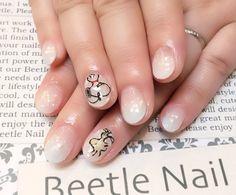 Snoopy nail - 滋賀の人気ネイルサロン : 八幡 スヌーピーアート